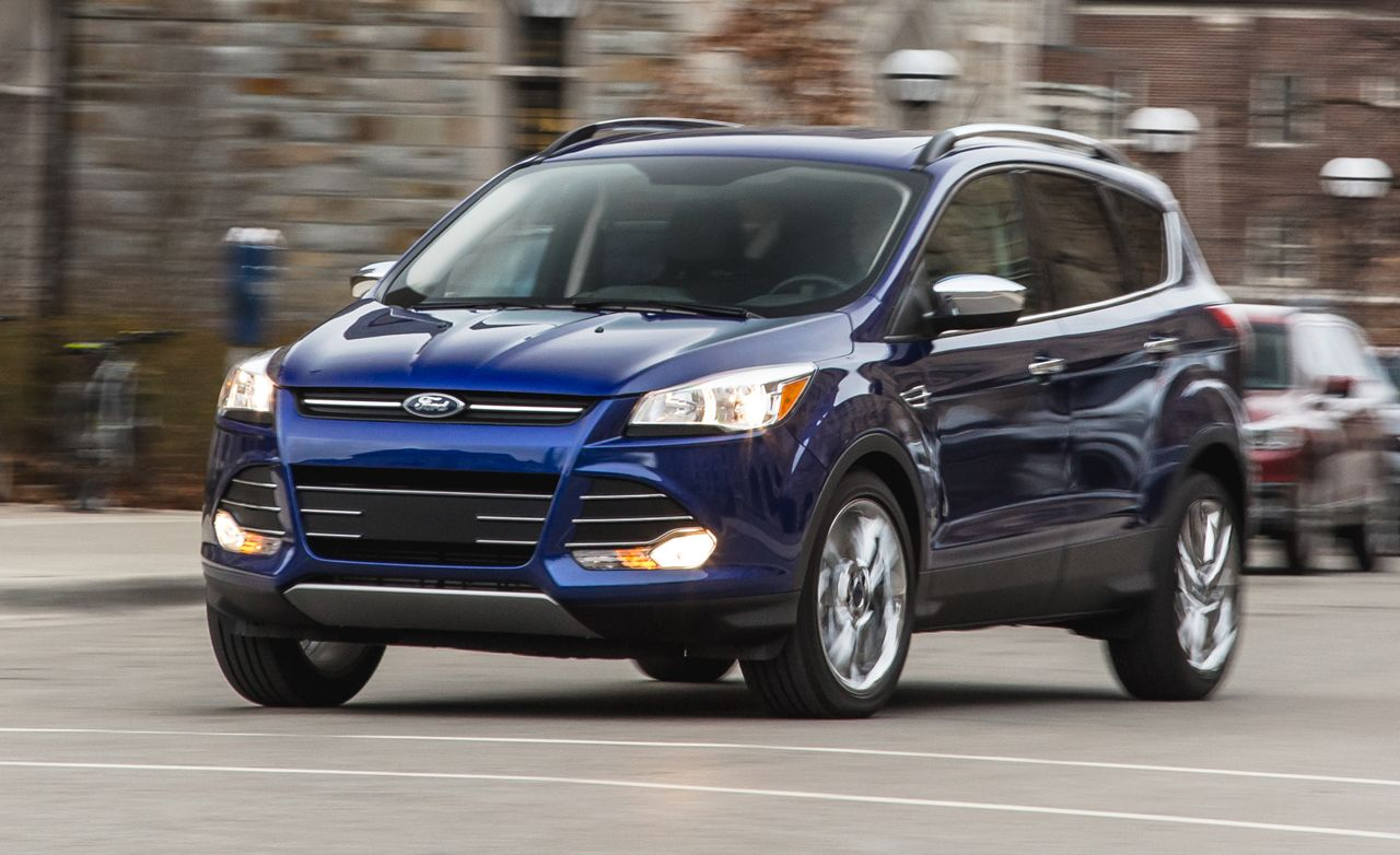 2016 Ford Escape 2 0l Ecoboost Fwd Instrumented Test