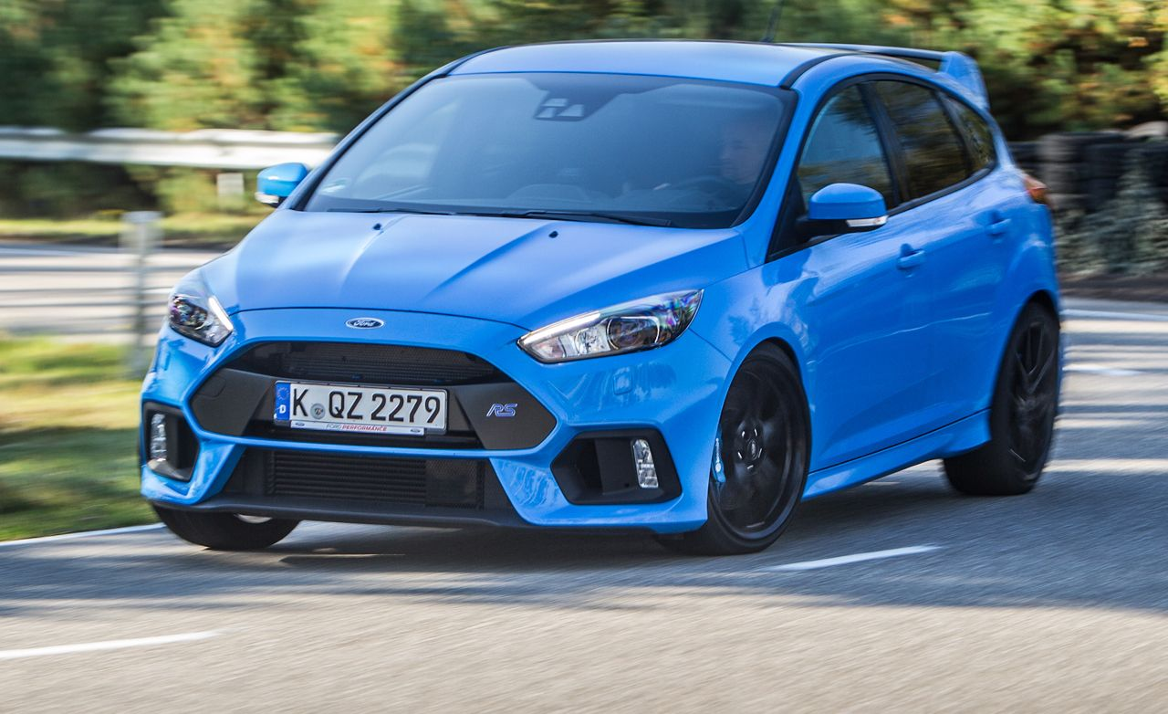 2016 Ford Focus RS: We Sit Shotgun in the Hotly Anticipated Megahatch