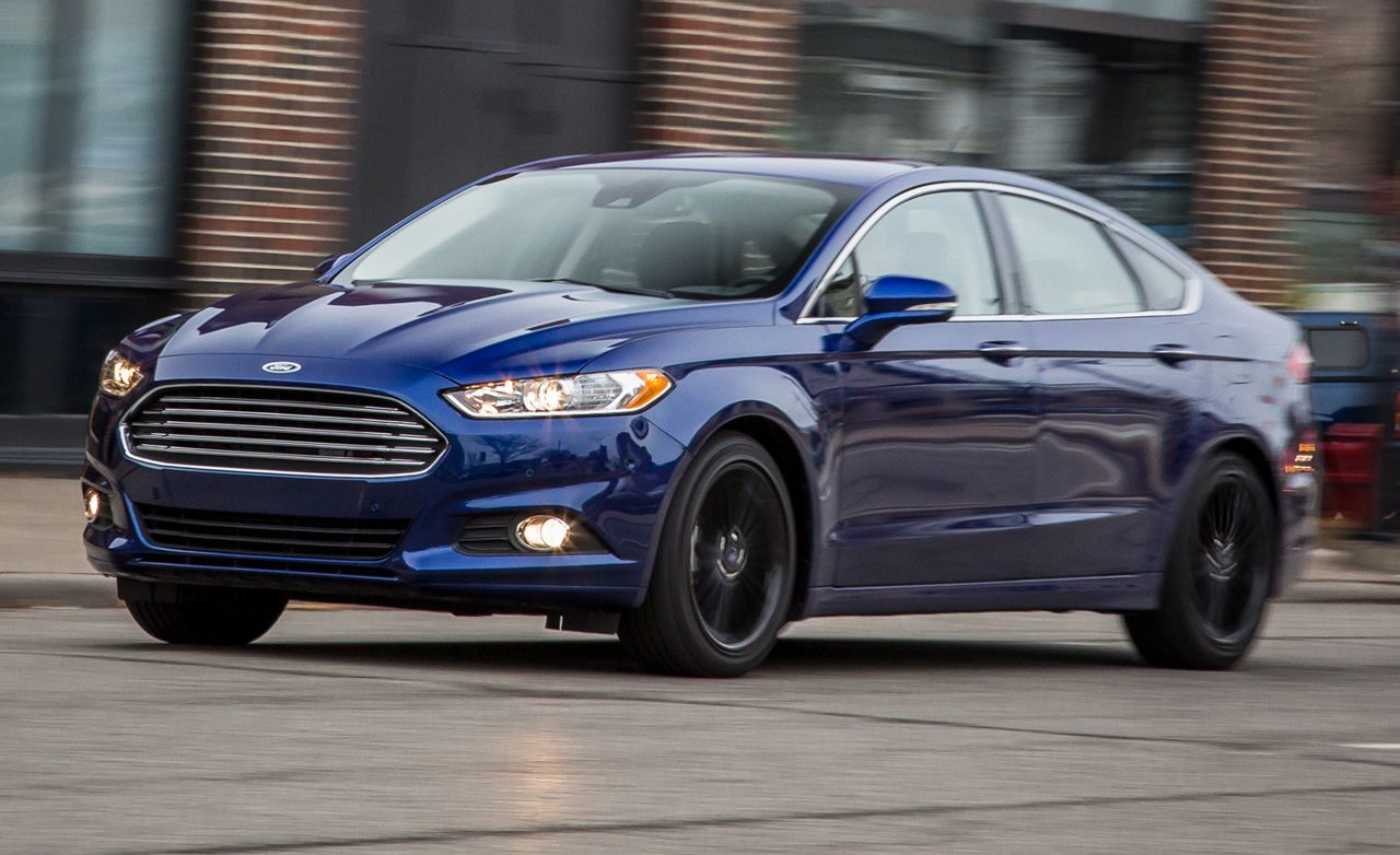 2017 Ford Fusion 2 0 Ecoboost >> 2016 Ford Fusion Quick Take | Review | Car and Driver