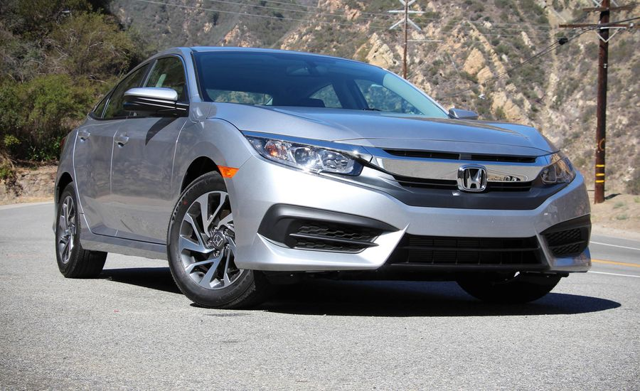 2016 Honda Civic 20L Sedan