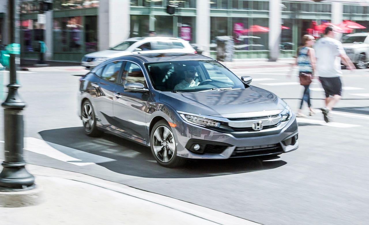 2016 Honda Civic 1.5L Turbo Sedan