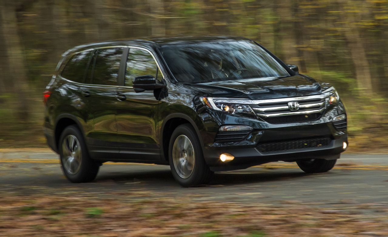 2016 Honda Pilot Fwd Test Review Car And Driver