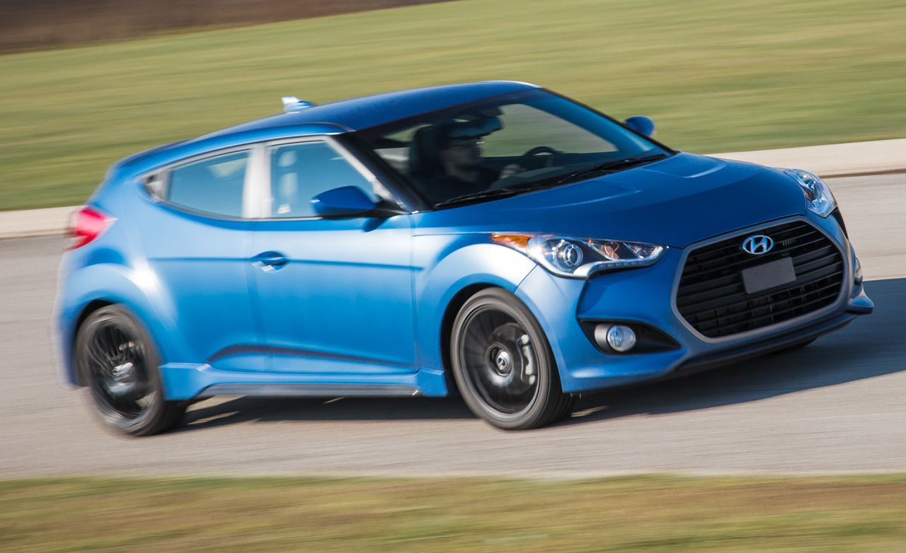 2016 Hyundai Veloster Rally Edition 1 6l Turbo Test Review Car