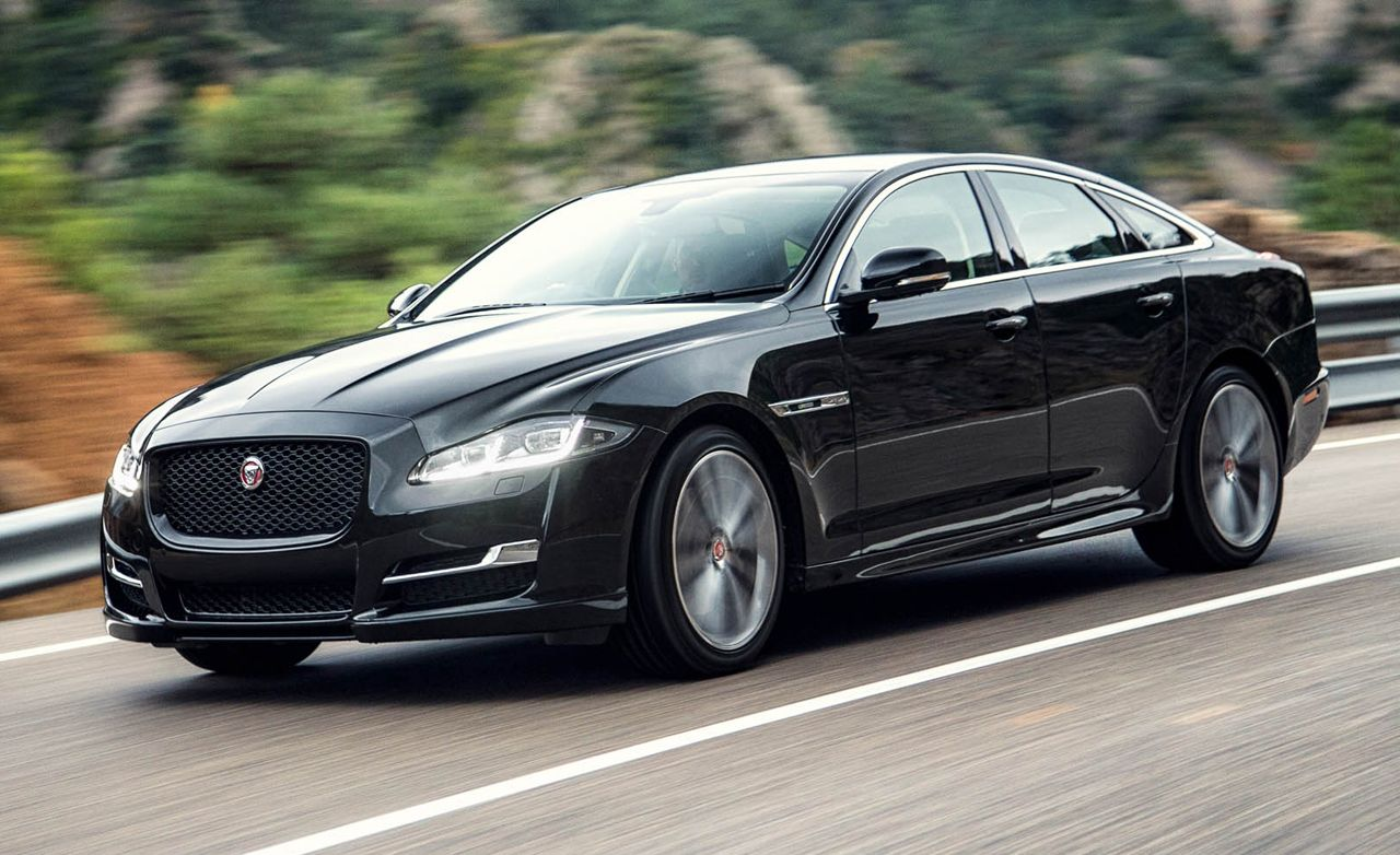 2016 Jaguar Xj First Drive Review Car And Driver