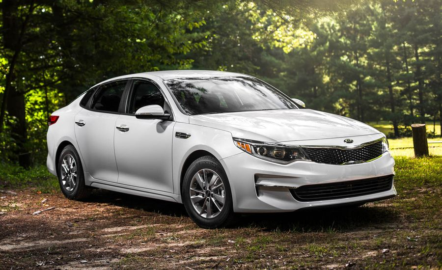 2016 kia optima 1 6t test review car and driver. Black Bedroom Furniture Sets. Home Design Ideas