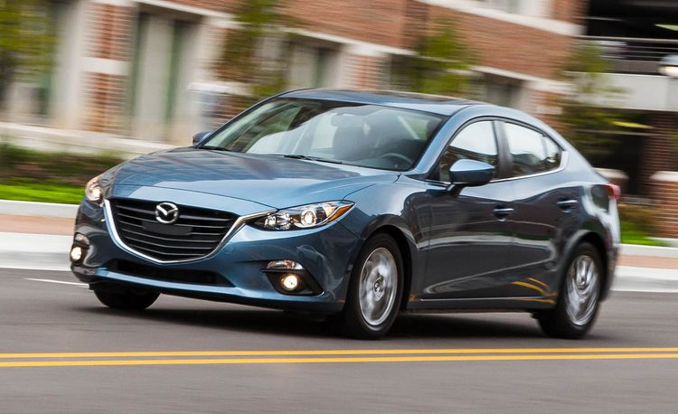 2016 Mazda 3 2.0L Manual Sedan
