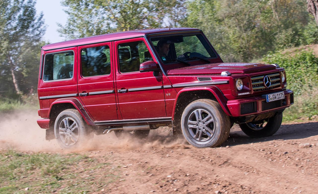 2016 Mercedes Benz G550 First Drive Review Car And Driver
