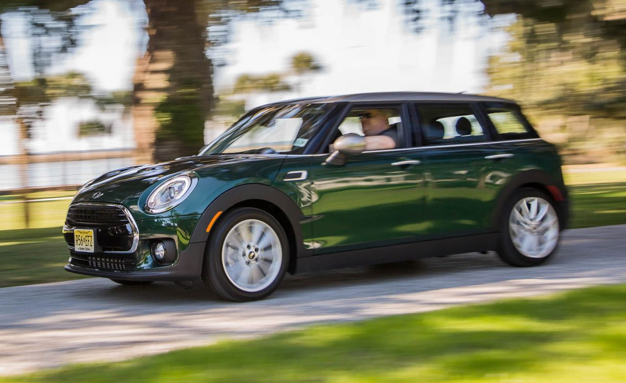 2016 Mini Cooper Clubman First Drive