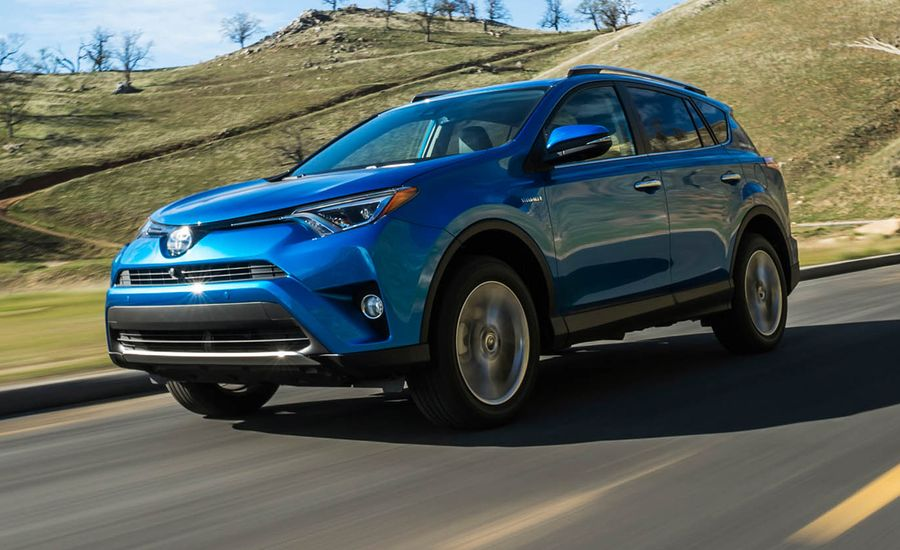 2016 toyota rav4 hybrid first drive review car and driver. Black Bedroom Furniture Sets. Home Design Ideas