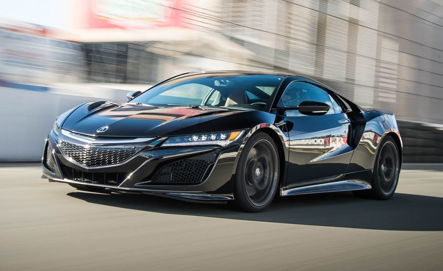 2017 Acura Nsx First Drive Review Car And Driver