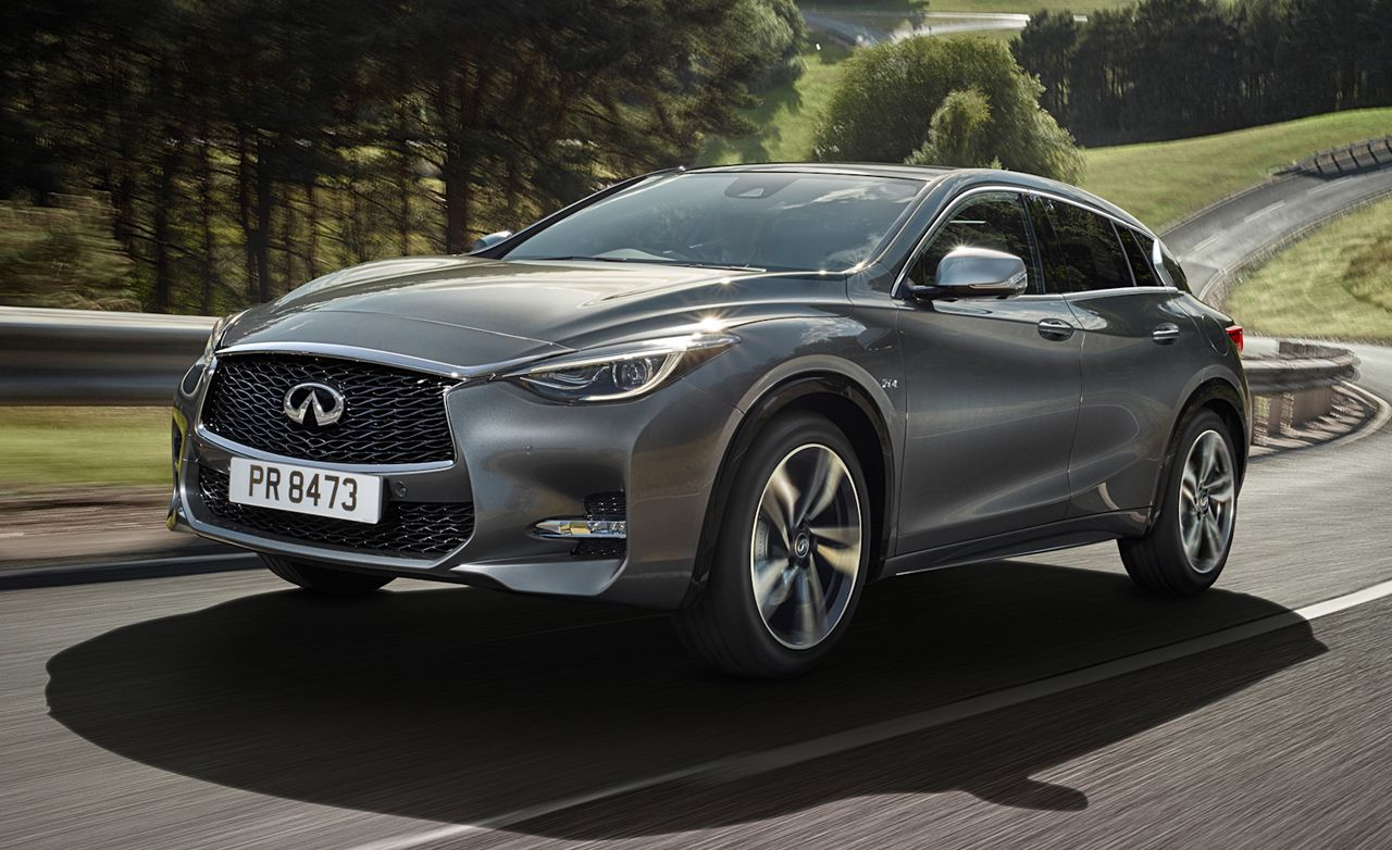 2017 Infiniti Q30 2 0t Sport Awd First Drive Review Car And Driver