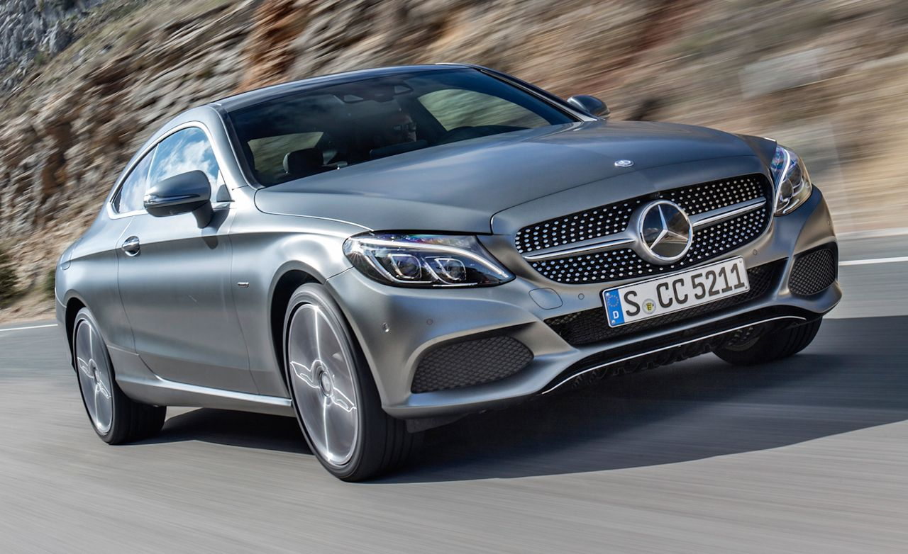 2017 mercedes-benz c-class coupe first drive – review – car and driver