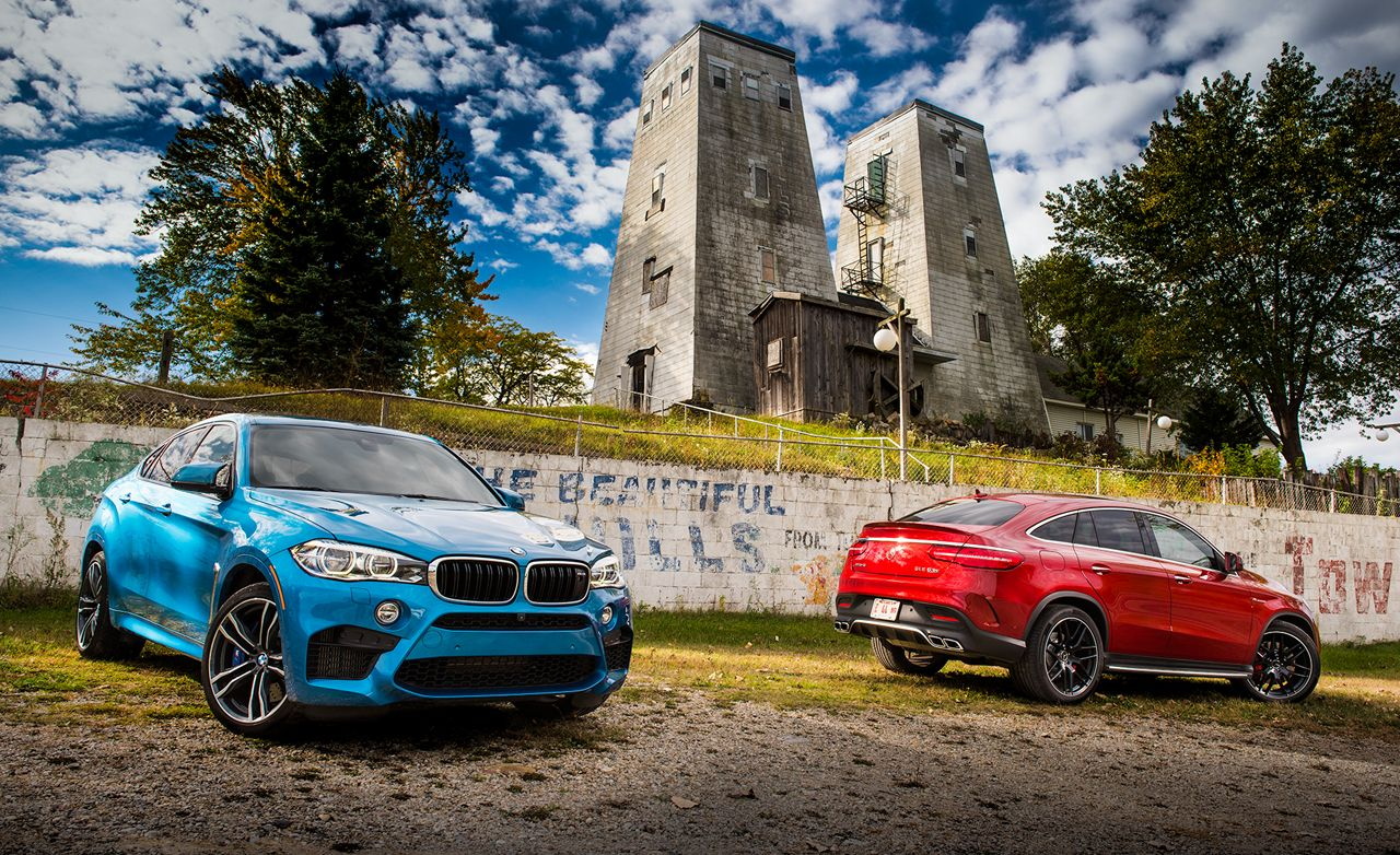 2015 Bmw X6 M Vs 2016 Mercedes Amg Gle63 S Coupe