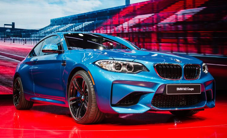 """2016 BMW M2 Revealed: """"M"""" in Its Purest Form"""
