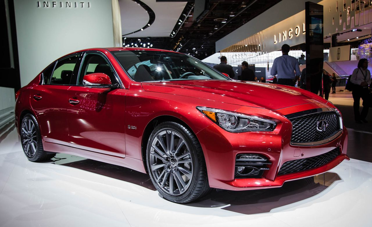 2016 Infiniti Q50 Debuts with Two New Engines