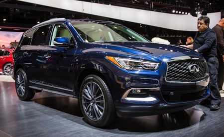 2016 Infiniti QX60 Gets a Nip and a Tuck (That's the FWD-Based, Three-Row One)