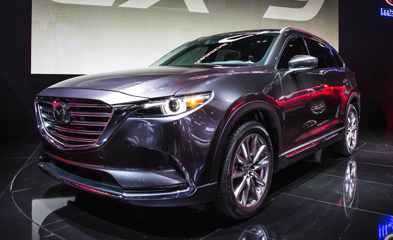 2016 Mazda CX9 Official Photos and Info  News  Car and Driver