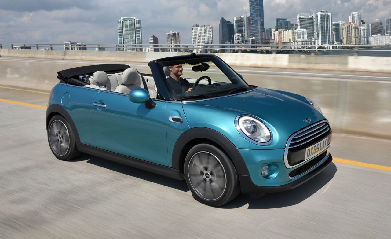 2016 Mini Cooper / Cooper S Convertible: All You'd Expect, Sans Roof