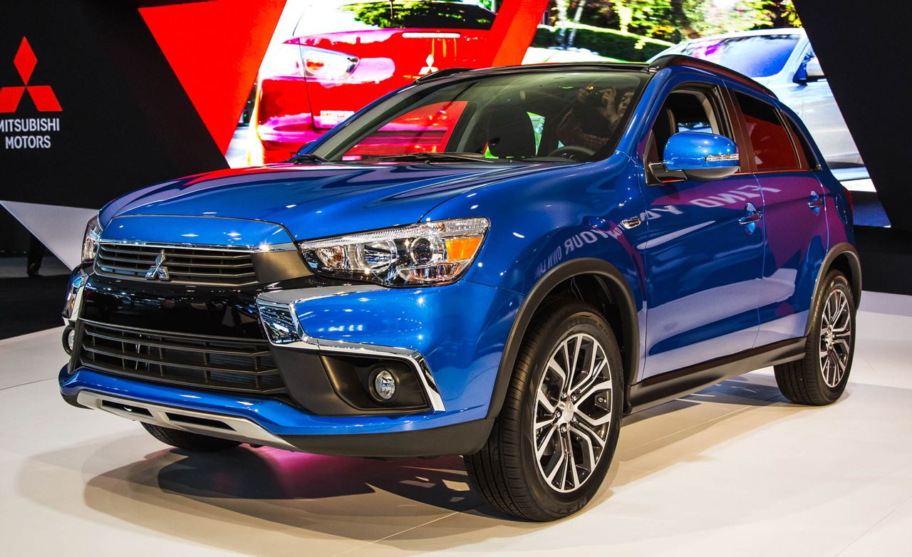 2016 mitsubishi outlander sport photos and info news. Black Bedroom Furniture Sets. Home Design Ideas