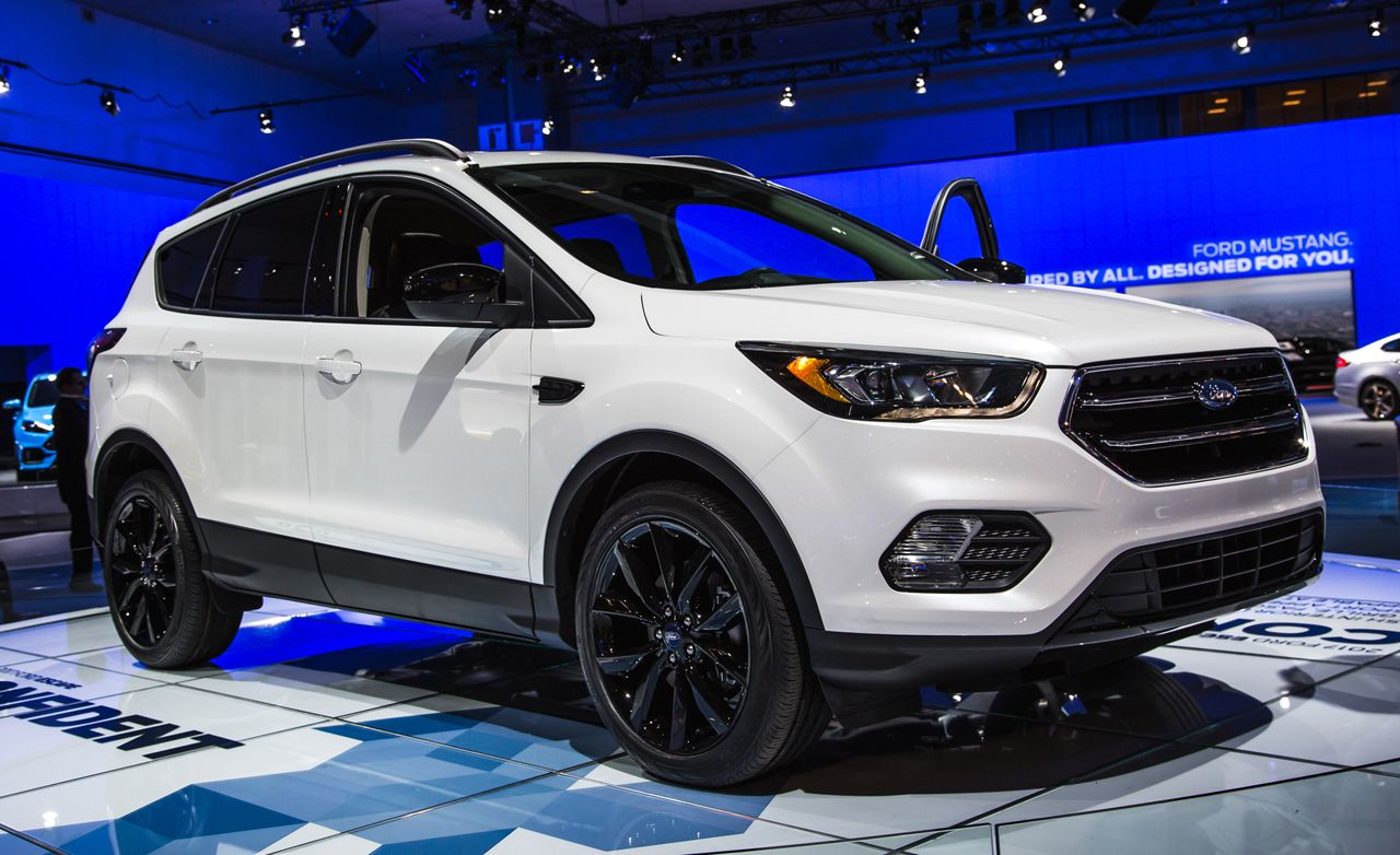 2017 ford escape official photos and info news car and driver. Black Bedroom Furniture Sets. Home Design Ideas