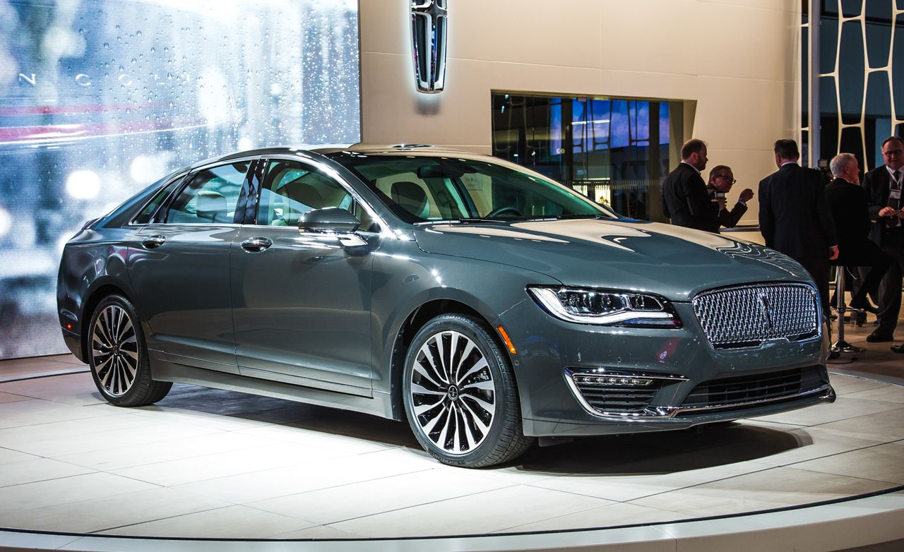 2017 Lincoln MKZ Revealed: Further from the Ford