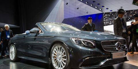 2017 Mercedes Amg S65 Cabriolet Photos And Info 8211 News 8211