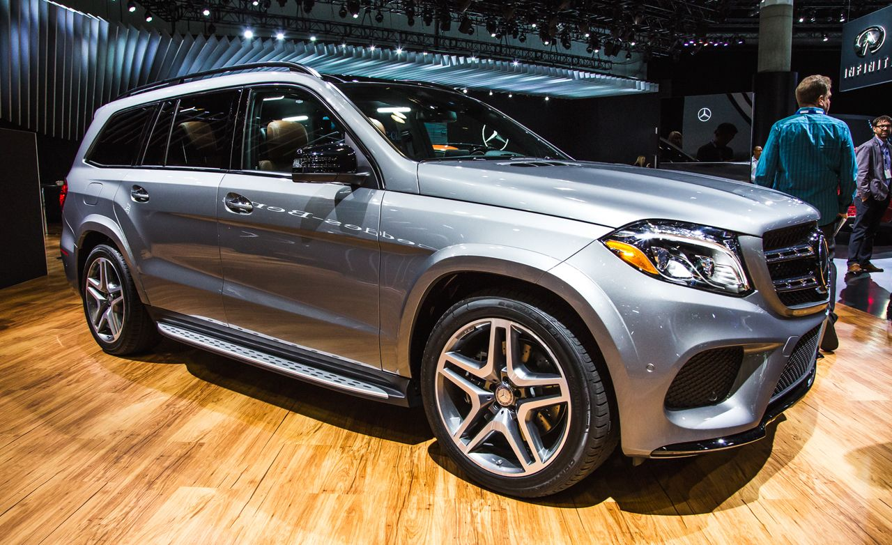 2017 mercedes benz gls class the gl gets a redoand a new name