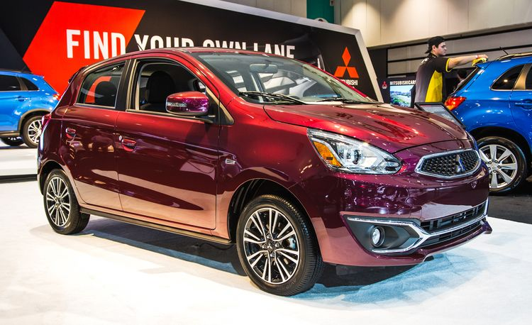 2017 Mitsubishi Mirage Makes Its Triumphant Return
