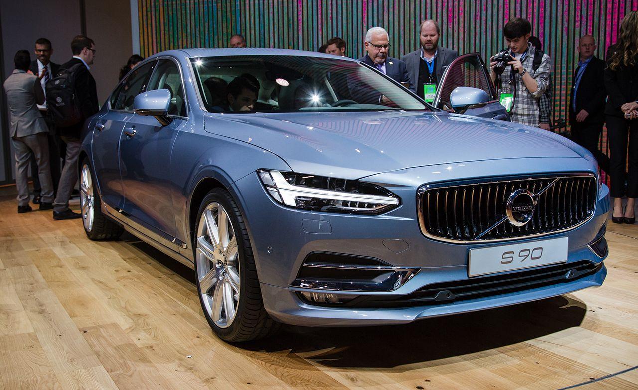 2017 Volvo S90: A New, Swedish Flagship Sedan