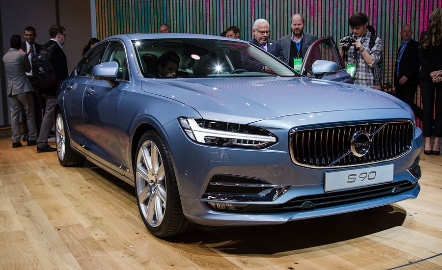 2017 Volvo S90: A New, Swedish Flagship Sedan