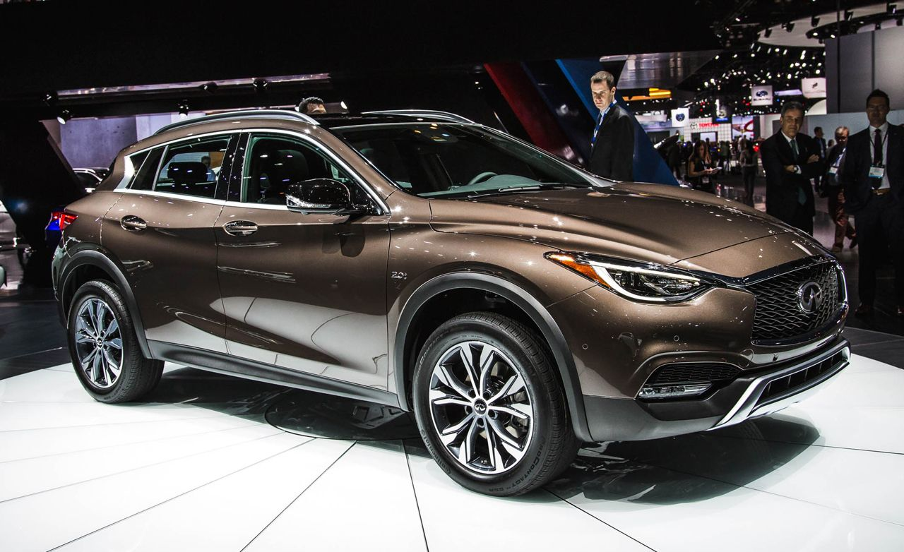 2017 Infiniti QX30: Not a Flying Boat, Perhaps a Flying Skiff?