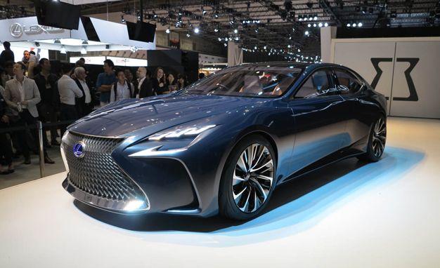 Lexus LF-FC Concept Previews Next LS Flagship Sedan – News ...