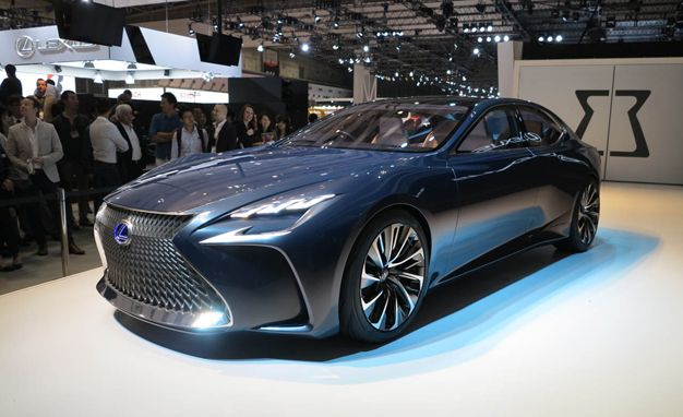Lexus LF-FC Concept: A Preview of the Next LS