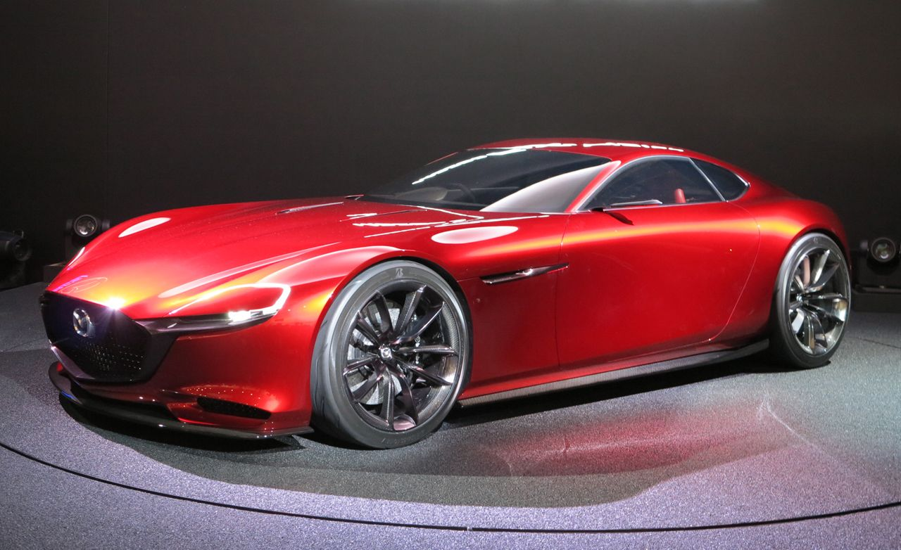 mazda rx vision concept debuts in tokyo news car and driver. Black Bedroom Furniture Sets. Home Design Ideas