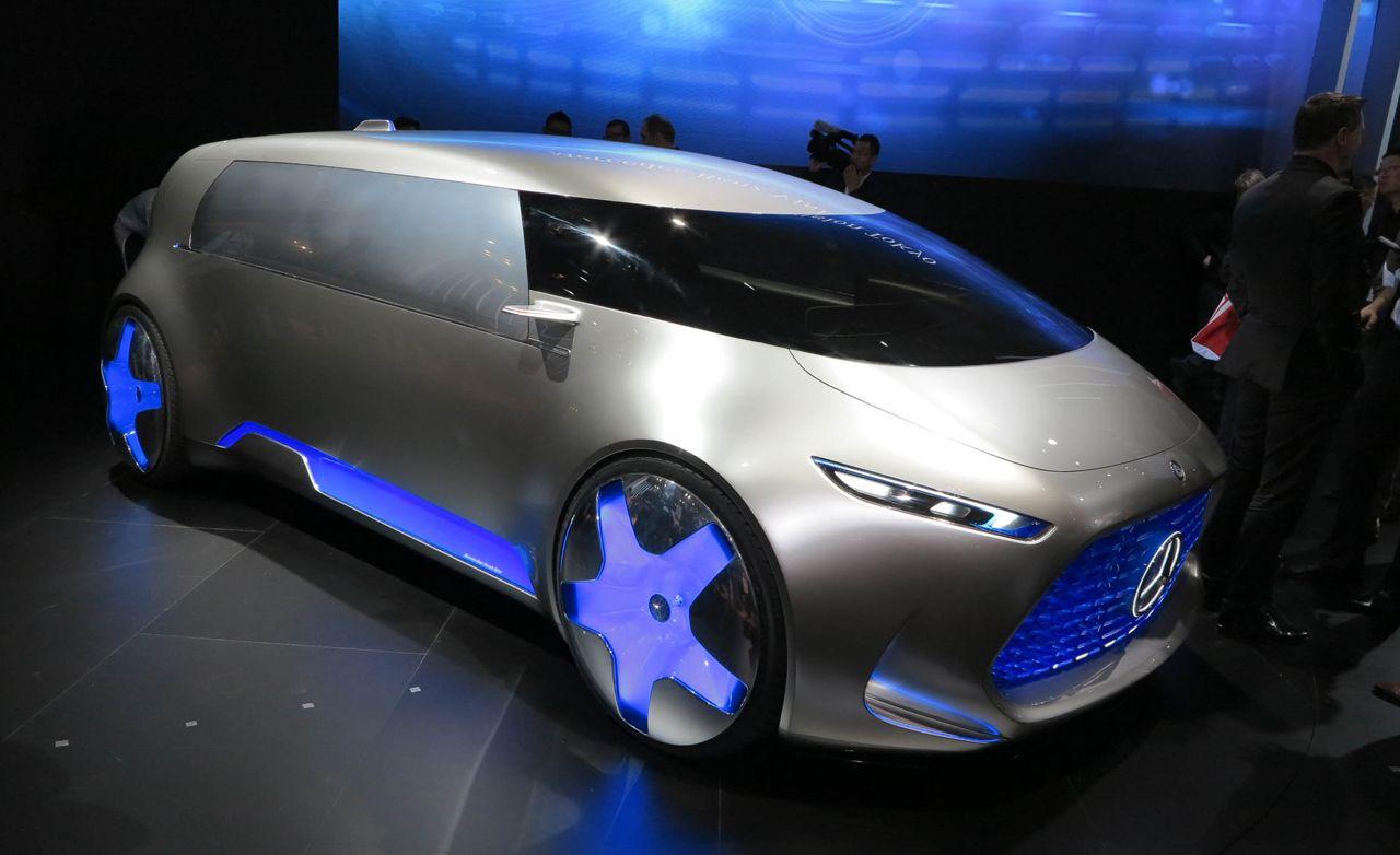 Mercedes-Benz Vision Tokyo Concept: Enter the Luxury Autonopod