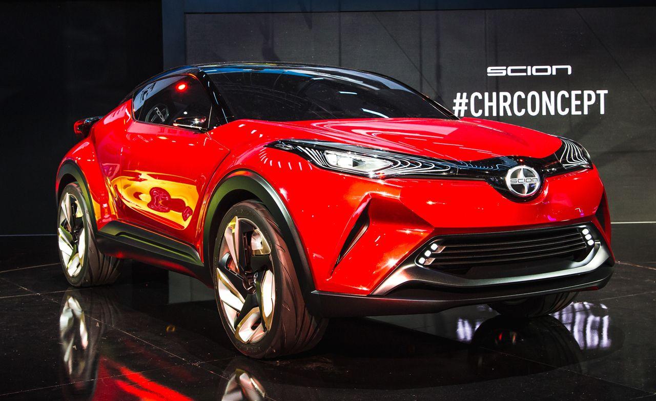 Yuccie Pup: Scion Unveils Red C-HR Concept
