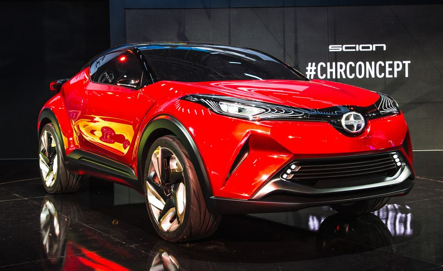 Yuccie Pup: Scion Unveils Red C-HR Concept