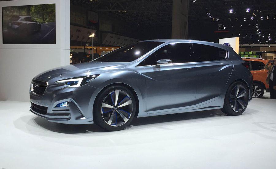 Subaru Impreza 5-Door Concept: You Can't Say the Name Isn't Honest