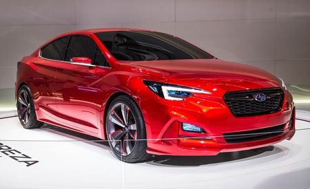 Subaru Impreza Sedan Concept: It Is What It Says It Is