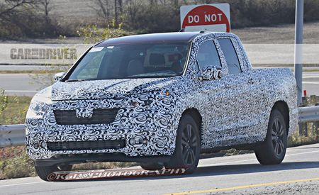 2017 Honda Ridgeline Spy Photos