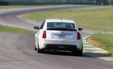 360° Virtual-Reality Video: 2016 Cadillac CTS-V at Lightning Lap 2015