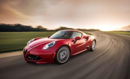 Lightning Lap 2015: 2015 Alfa Romeo 4C