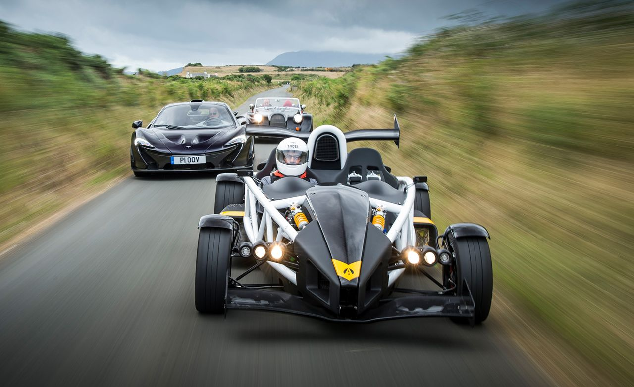 Britains Most Brutish Ariel Atom  R Mclaren P And Morgan Plus