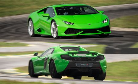 Lightning Lap 2015 LL5 Class: Lamborghini Huracan LP610-4 and McLaren 650S Spider