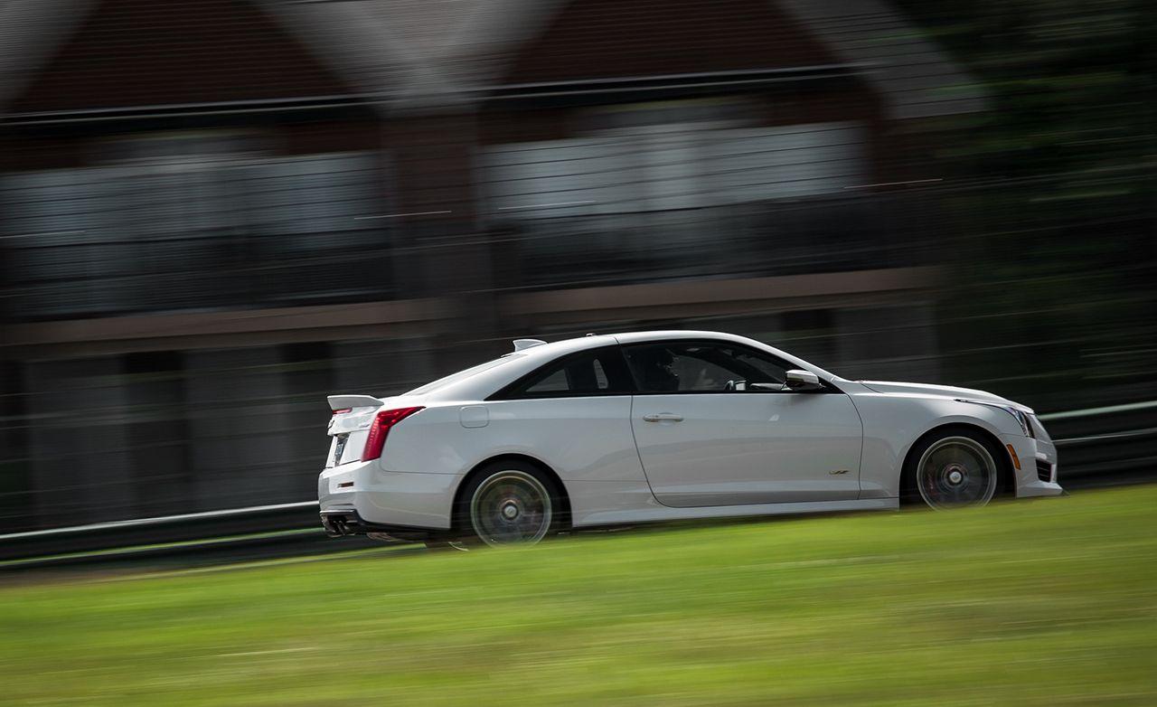 Lightning Lap 2015: 2016 Cadillac ATS-V Coupe