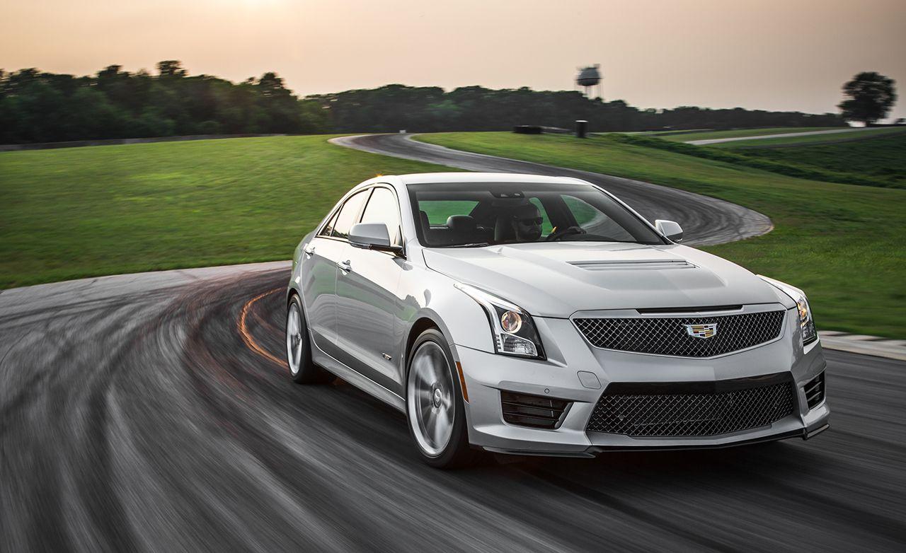 Lightning Lap 2015: 2016 Cadillac ATS-V Sedan