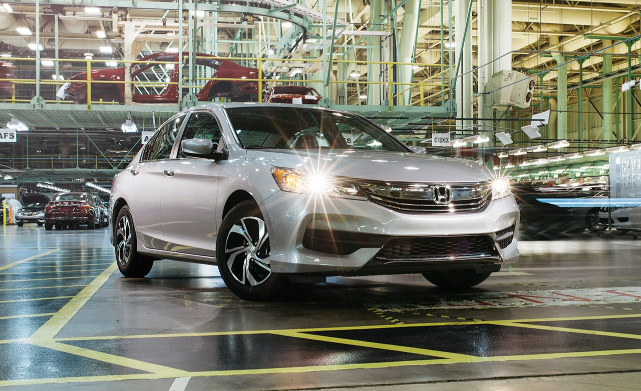 Honda Accord 2016 10Best Cars  Feature  Car and Driver