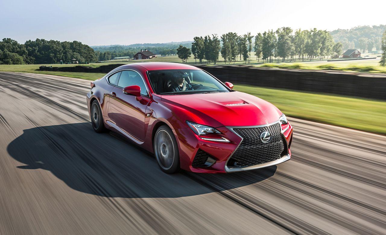 Lexus rcf quarter mile