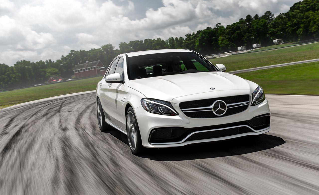Lightning Lap 2015: 2015 Mercedes-AMG C63 S