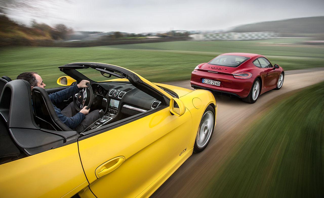 2016 10Best Cars: Porsche Boxster / Cayman